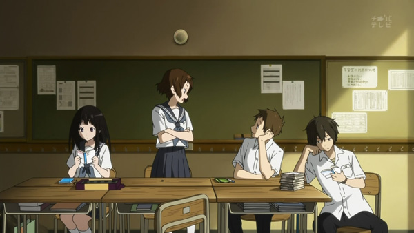 Hyouka 9: Yeah, what's up with that guy?