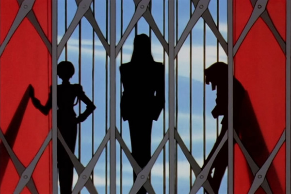 Utena 2: Just some shadows on an elevator.